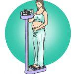 Cómo manejar su aumento de peso durante el embarazo?